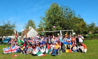 Les 35 délégations venues à Trosly pour les 50 ans